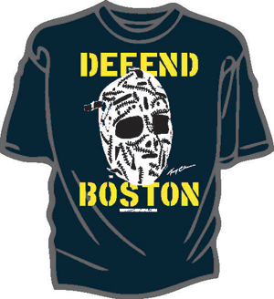 Gerry Cheevers Mask T-shirt