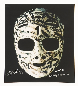 Gerry Cheevers Mask Print